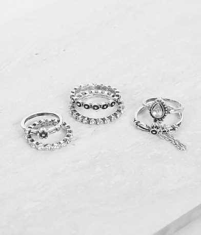 BKE Glitz Ring Set