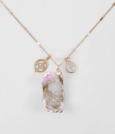 BKE Semi Precious Stone Necklace