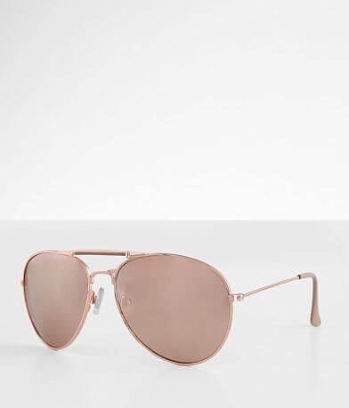 BKE Accomplice Aviator Sunglasses