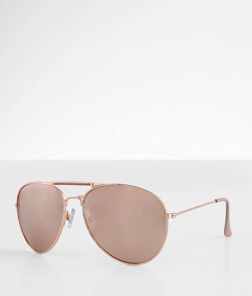 BKE Accomplice Aviator Sunglasses front view