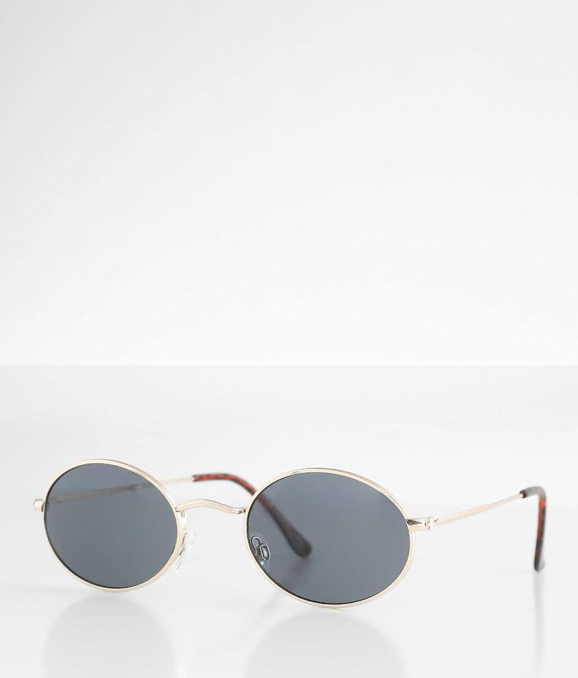 BKE Ivy Oval Sunglasses front view
