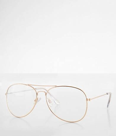 BKE Mile High Aviator Blue Light Blocking Glasses
