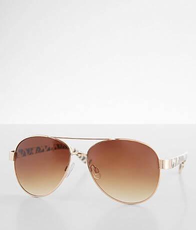 BKE Hot Pursuit Aviator Sunglasses