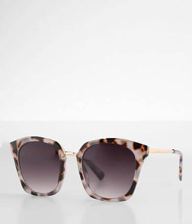 BKE Pinot Oversized Tortoise Sunglasses