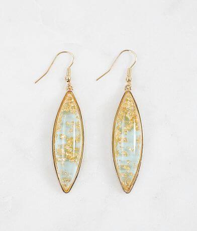 BKE Gold Fleck Earring