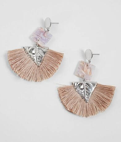 BKE Resin Tassel Earring