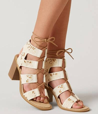 Farylrobin Linger Leather Heeled Sandal