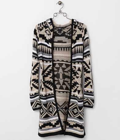 Daytrip Southwestern Print Cardigan Sweater