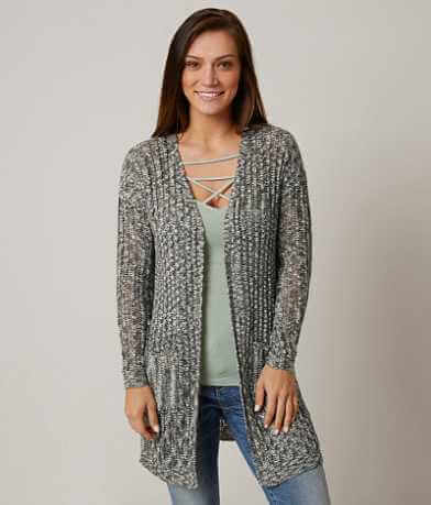 Daytrip Marled Duster Cardigan Sweater