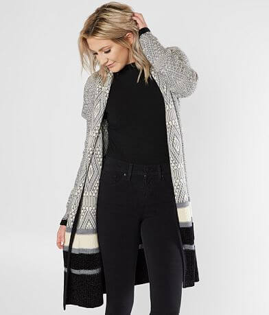 Daytrip Jacquard Cardigan Sweater