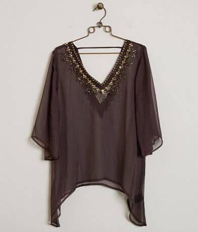 BKE Boutique Embellished Top