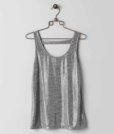 BKE Boutique Metallic Tank Top