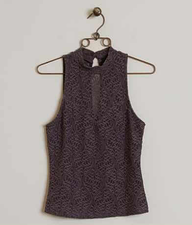BKE Boutique Lace Tank Top