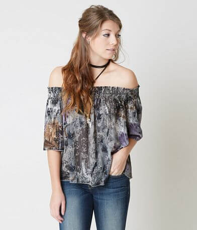 Gimmicks Off The Shoulder Top