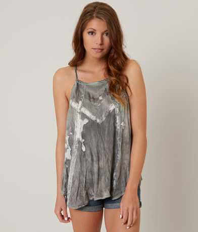 Gimmicks Washed Side Tie Tank Top