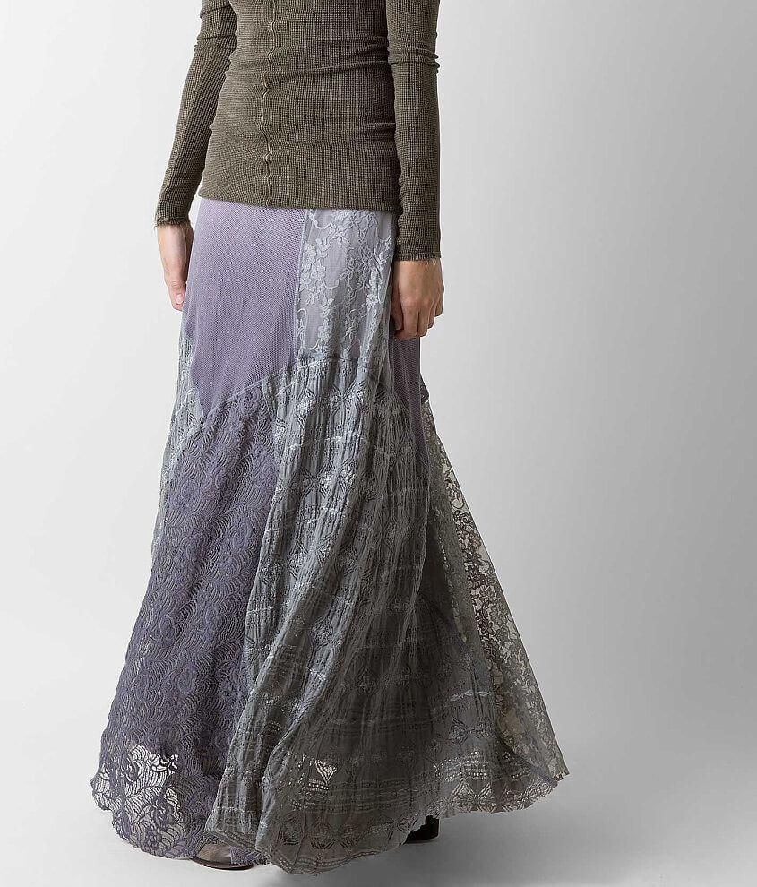 Gimmicks Pieced Maxi Skirt front view