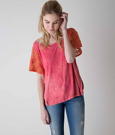 Gimmicks Washed Neon Top