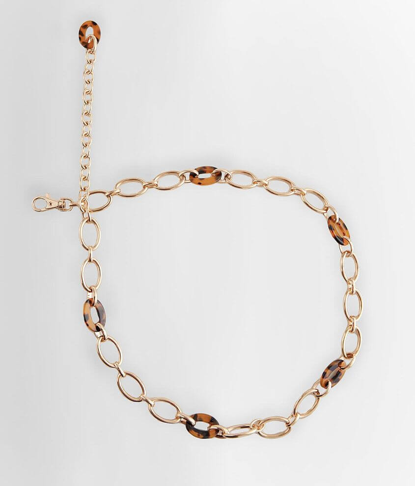 BKE Resin Chain belt front view