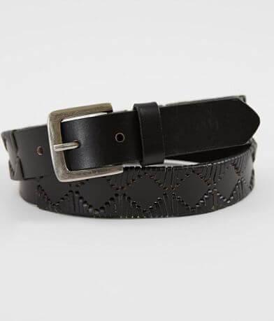 Indie Spirit Designs Woven Leather Belt