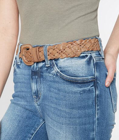 BKE Woven Leather Belt
