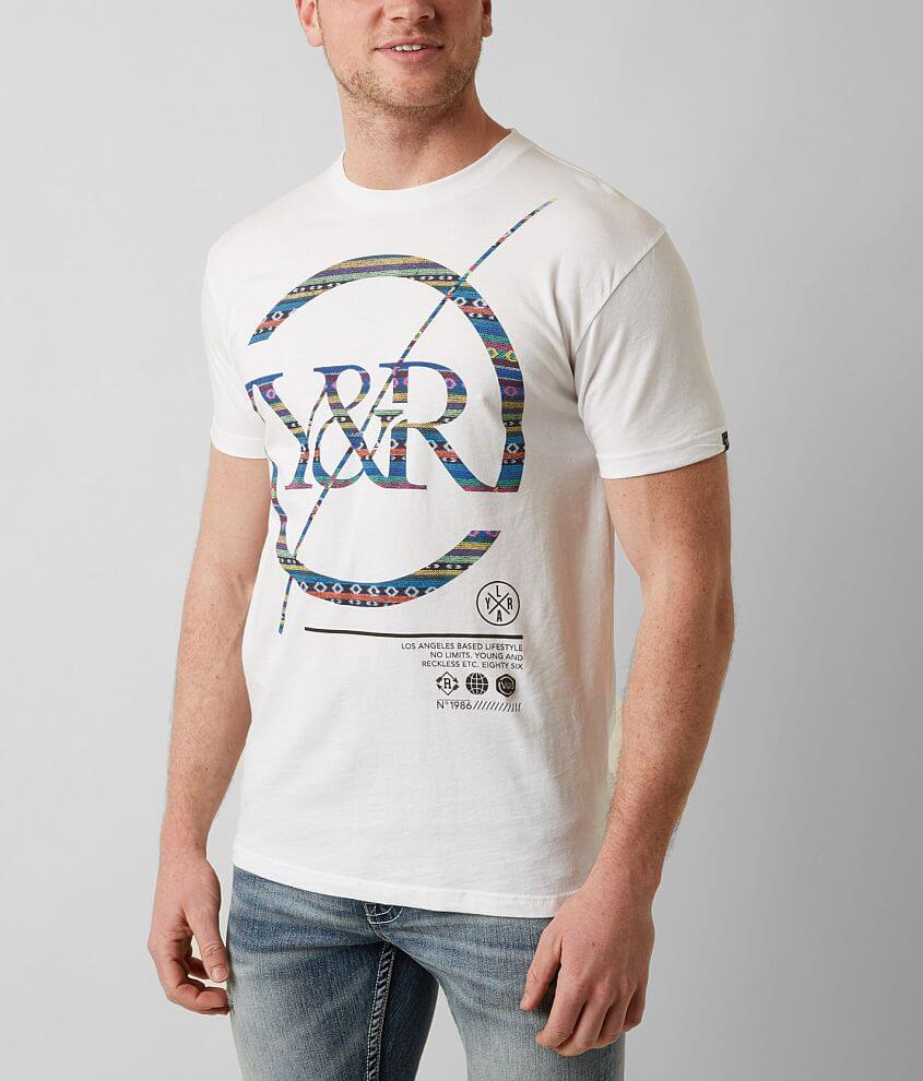 Young & Reckless Decipher T-Shirt front view