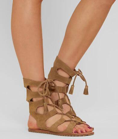 Musse & Cloud Itzel Leather Gladiator Sandal