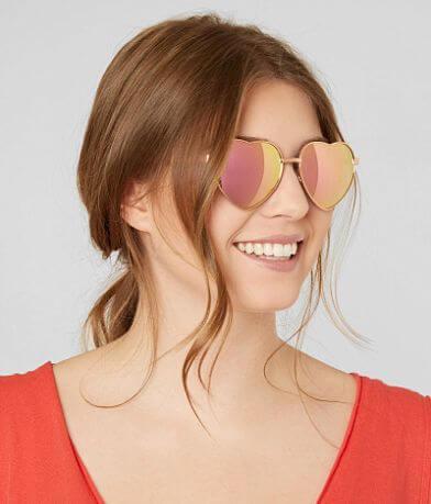 BKE Heart Sunglasses