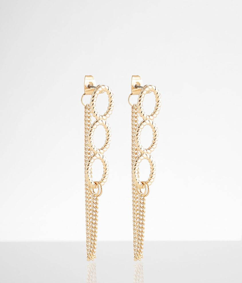 BKE Chain Earring front view