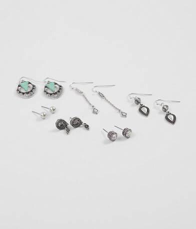 BKE Turquoise Earring Set