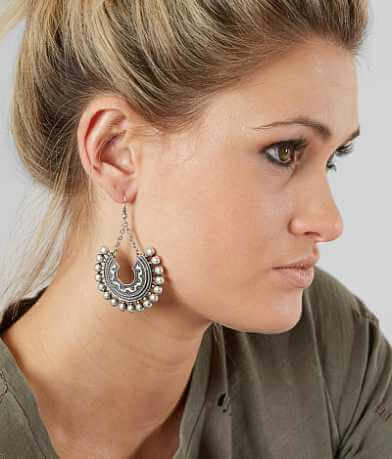 BKE Embossed Statement Earring