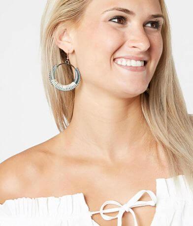 BKE Patina Hoop Earring