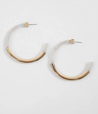 BKE Metal Casting Hoop Earring
