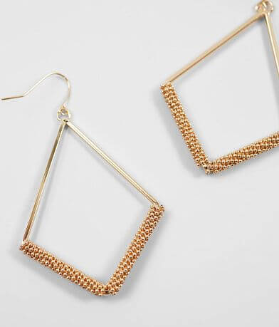 BKE Beaded Drop Earring
