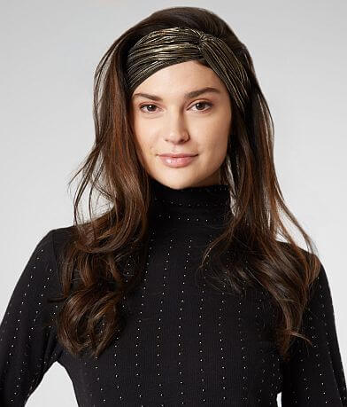 Metallic Striped Headband