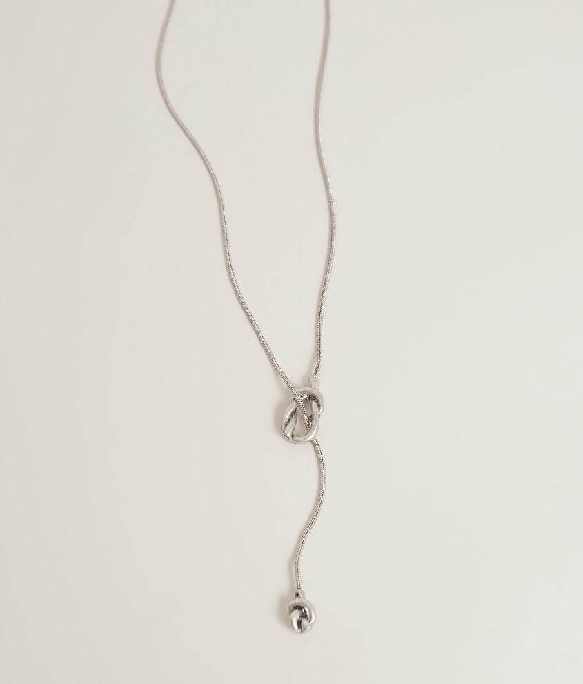 BKE Knot Necklace front view