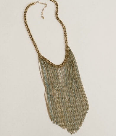 BKE Fringe Necklace