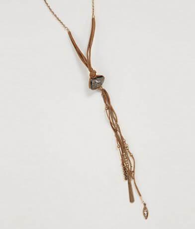 BKE Raw Stone Necklace