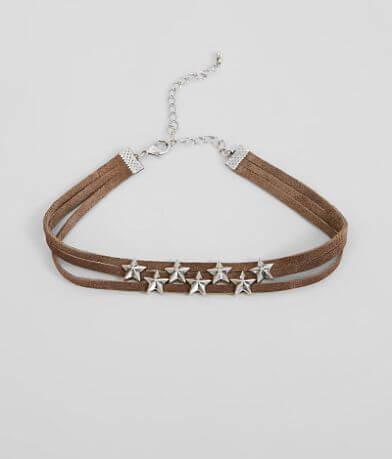 BKE Star Choker Necklace