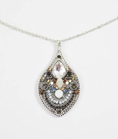 BKE Beaded Glitz Necklace