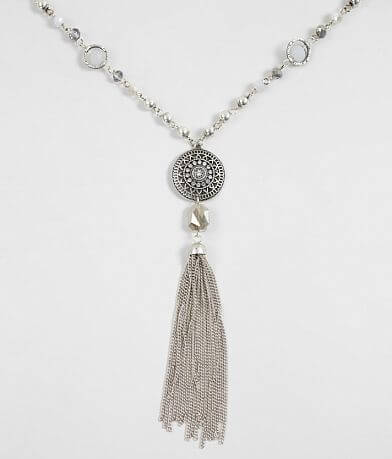 BKE Glitz Beaded Necklace