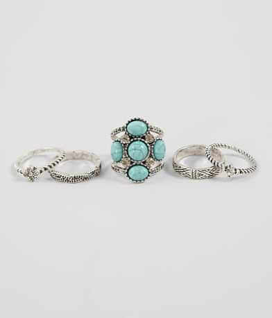 BKE Embossed Ring Set