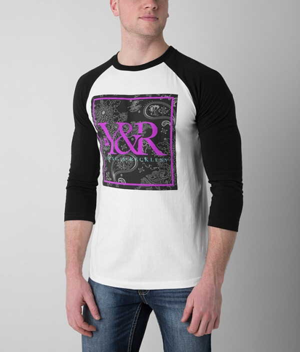amp; Young Reckless T Shirt Paisley n6w0wqdOx