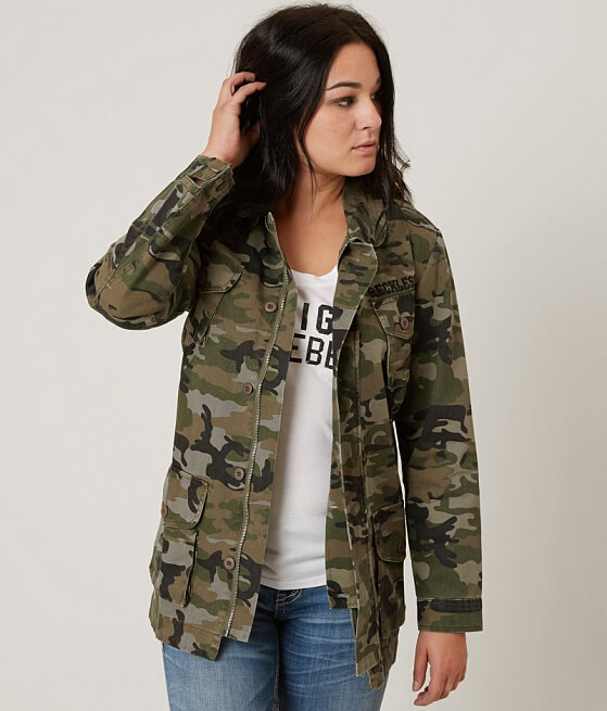 Young & Reckless Rivalry Military Jacket - Women's Coats/Jackets ...