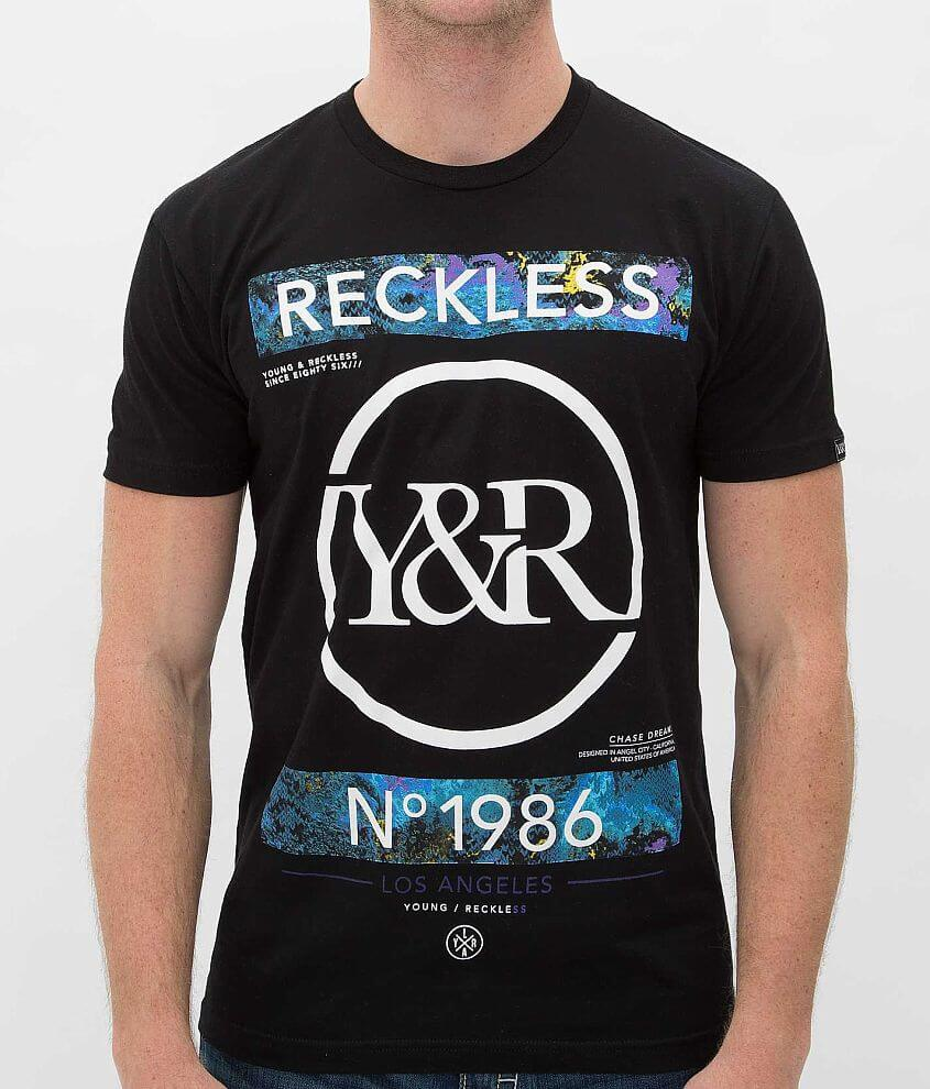 super popular e3708 43dee Young Reckless No Lackin T Shirt Men S T Shirts In Black Buckle