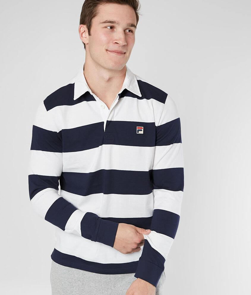 FILA Oscar Rugby Polo front view