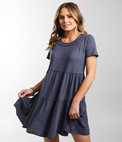 Daytrip Tiered Ruffle Mini Dress