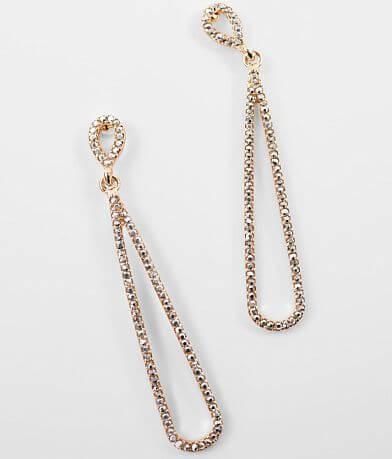 BKE Linear Glitz Earring