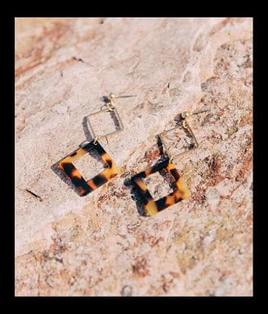 BKE Geo Resin Earring