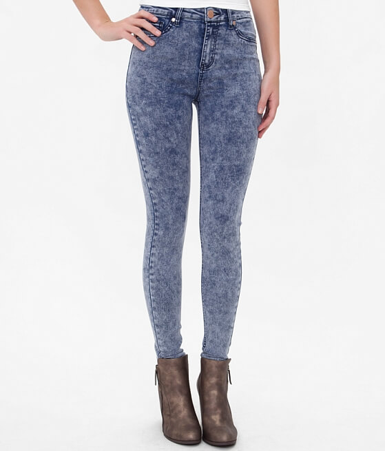 Tinseltown High Rise Skinny Stretch Jean - Women's Jeans in Acid ...