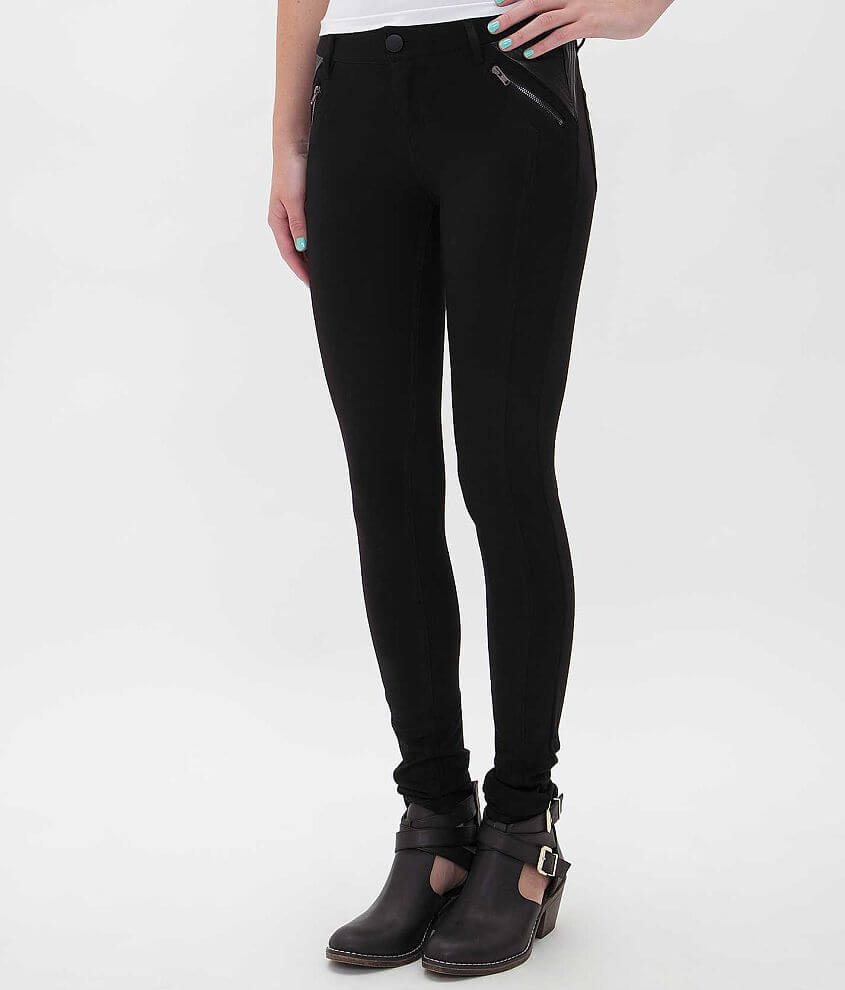 Tinseltown Skinny Ponte Pant front view